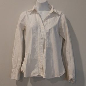 3/$13 Eddie Bauer white button down extra small